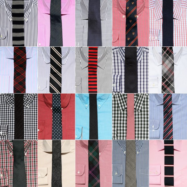 combinatii cravate