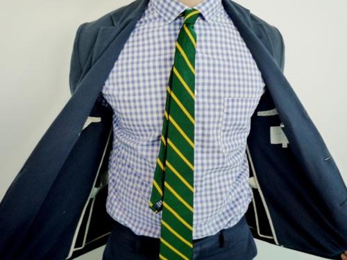 cravata verde
